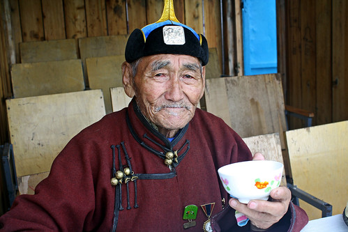 An elderly Mongolian herder | by World Bank Photo Collection