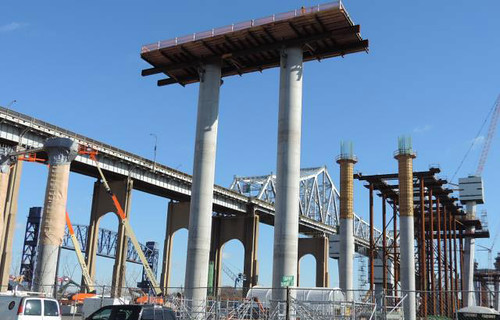 goethals bridge project Update on goethels bridge replacement project the new goethals bridge contractor will close one new jersey-bound lane on the new jersey side of the.