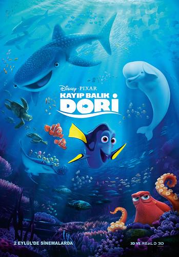 Kayıp Balık Dori - Finding Dory (2016)
