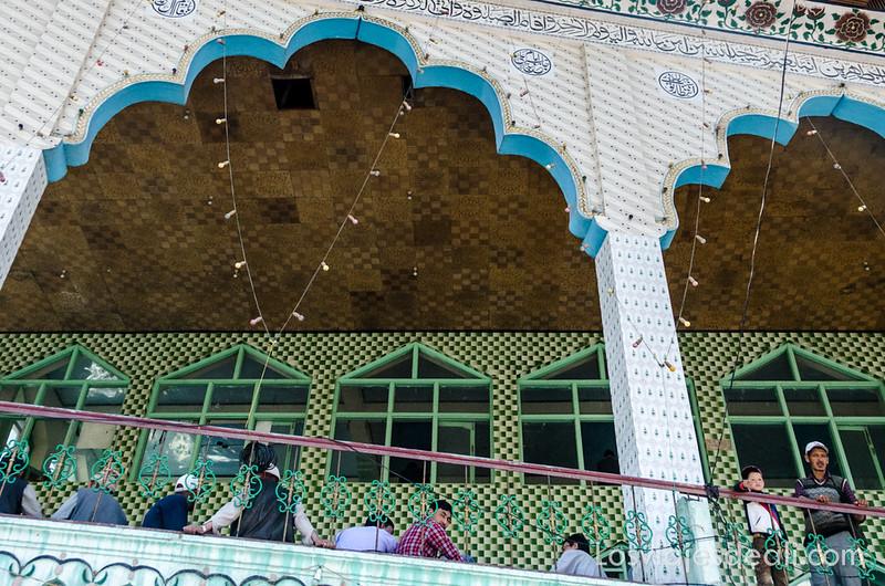 pueblos de Cachemira mezquita de Kargil