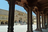 Jaipur - Amber Fort columns