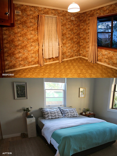 Bedroom Before & After | by Kyrie K