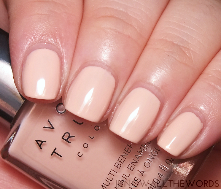 Avon true colour multi benefit bb polish perfectly pink