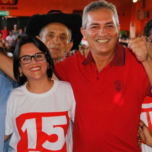 Em áudio, esposa de candidato coloca sob suspeita sentença de juiz em Óbidos, Alice Silva e o marido Jaime