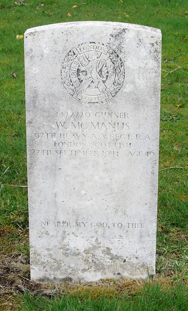 Cardross War Grave 3
