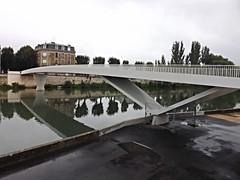 Pedestrian Bridge, River Aisne