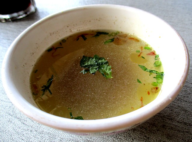 Nuraini Cafe complimentary soup