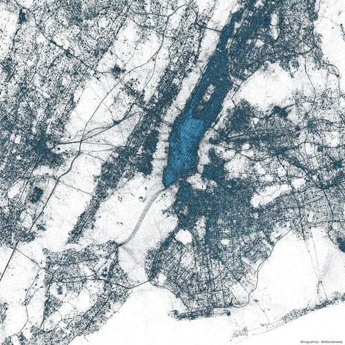 Visualization: New York City | by @Twitter