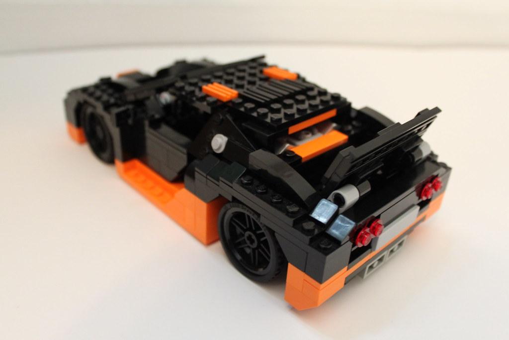 lego bugatti veyron super sport the spoiler also pivots up flickr. Black Bedroom Furniture Sets. Home Design Ideas