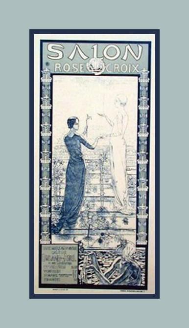 Salon rose croix 1897 c schwabe michael flickr for Salon rose croix