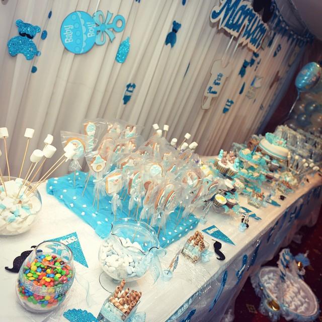 candy bar decoration babyshower newborn event prince flickr