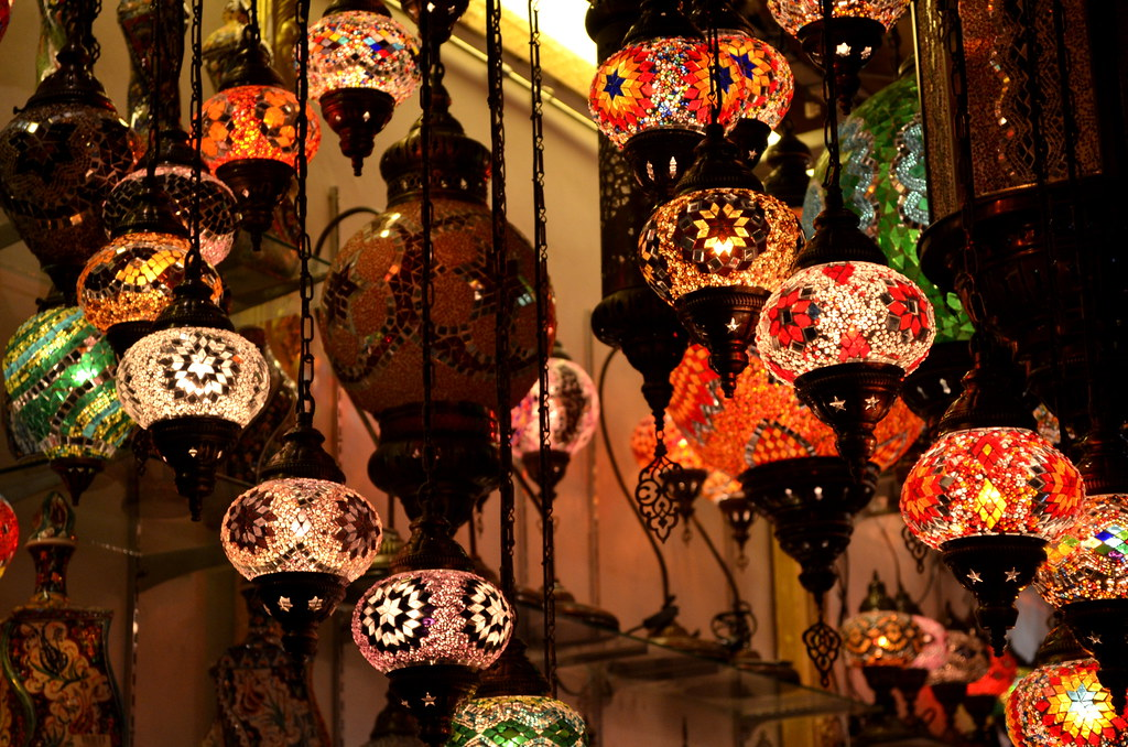 Persian Lamps At Arab Street