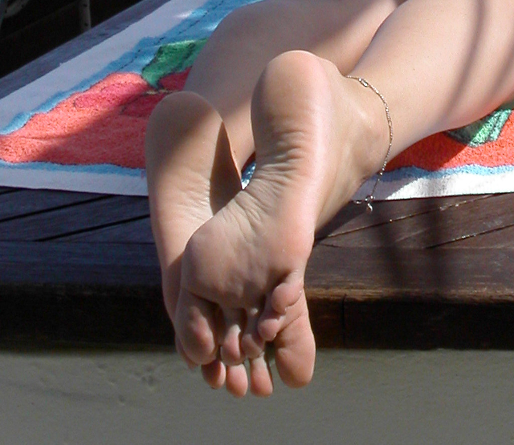 My wifes sexy feet and legs seems me