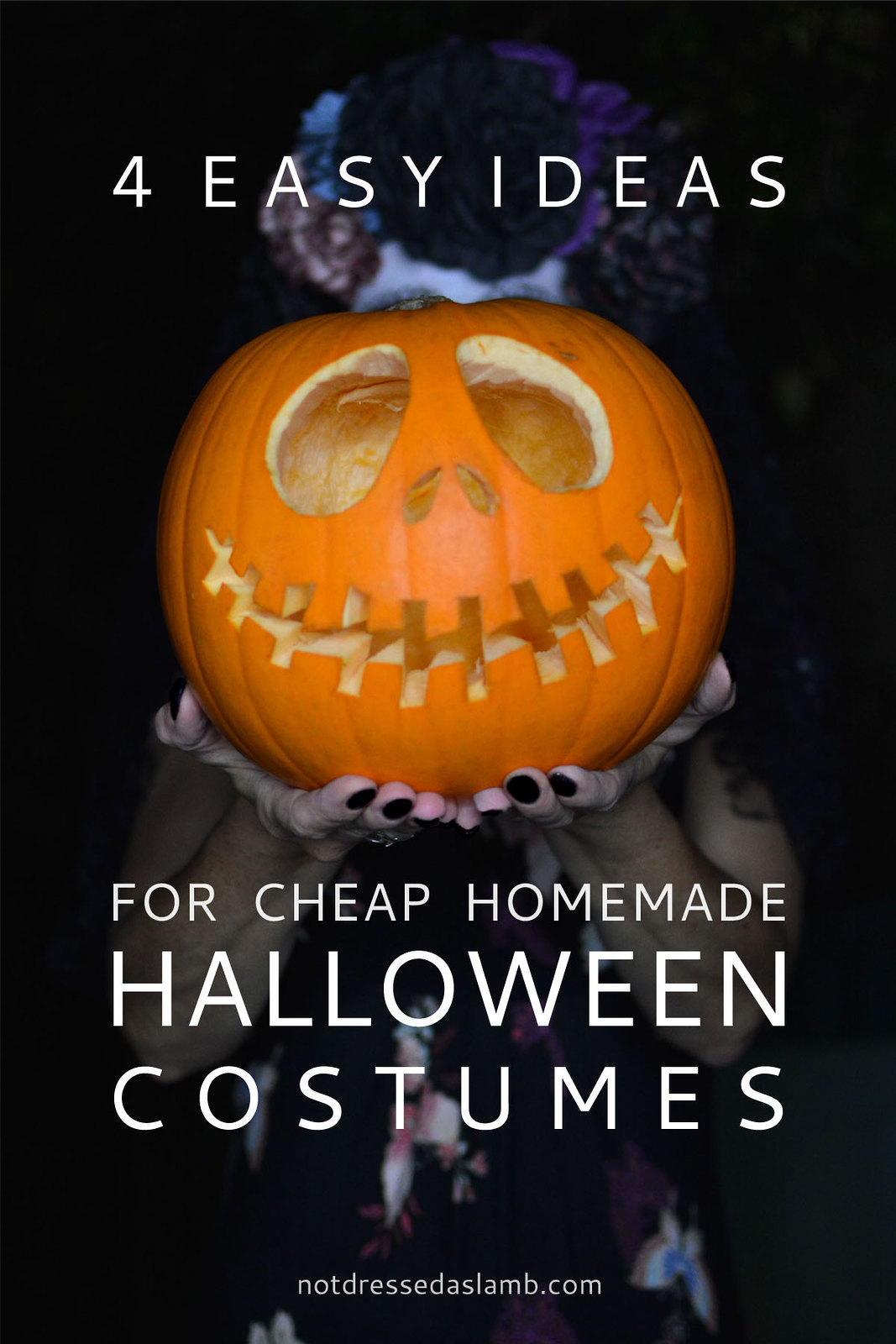 4 Easy Ideas for Cheap, Homemade Halloween Costumes | Not Dressed As Lamb