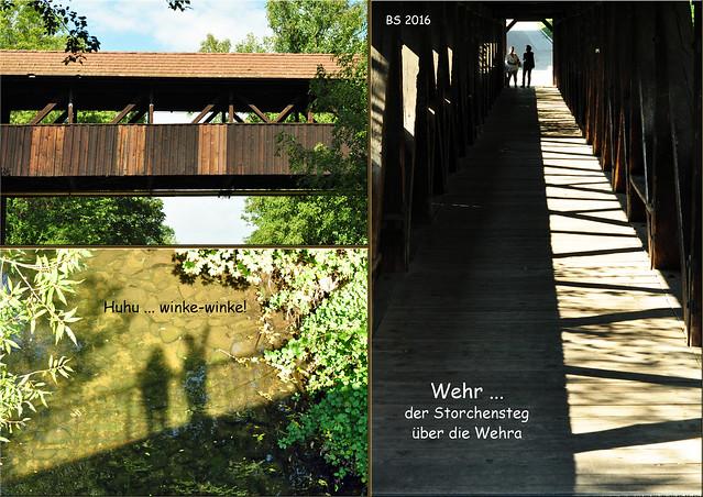 Stadt Wehr (Baden), Landkreis Waldshut. Impressionen vom Oktober 2016 - Fotos und Collagen: Brigitte Stolle
