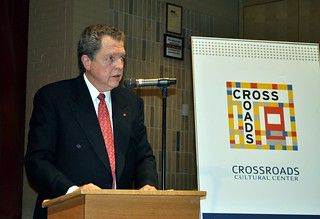 Mr. John M. KLINK, President, International Catholic Migration Commission | by Crossroads Gallery