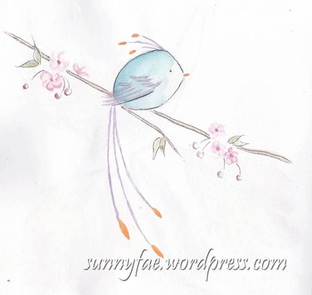 inktober-coloured-bird
