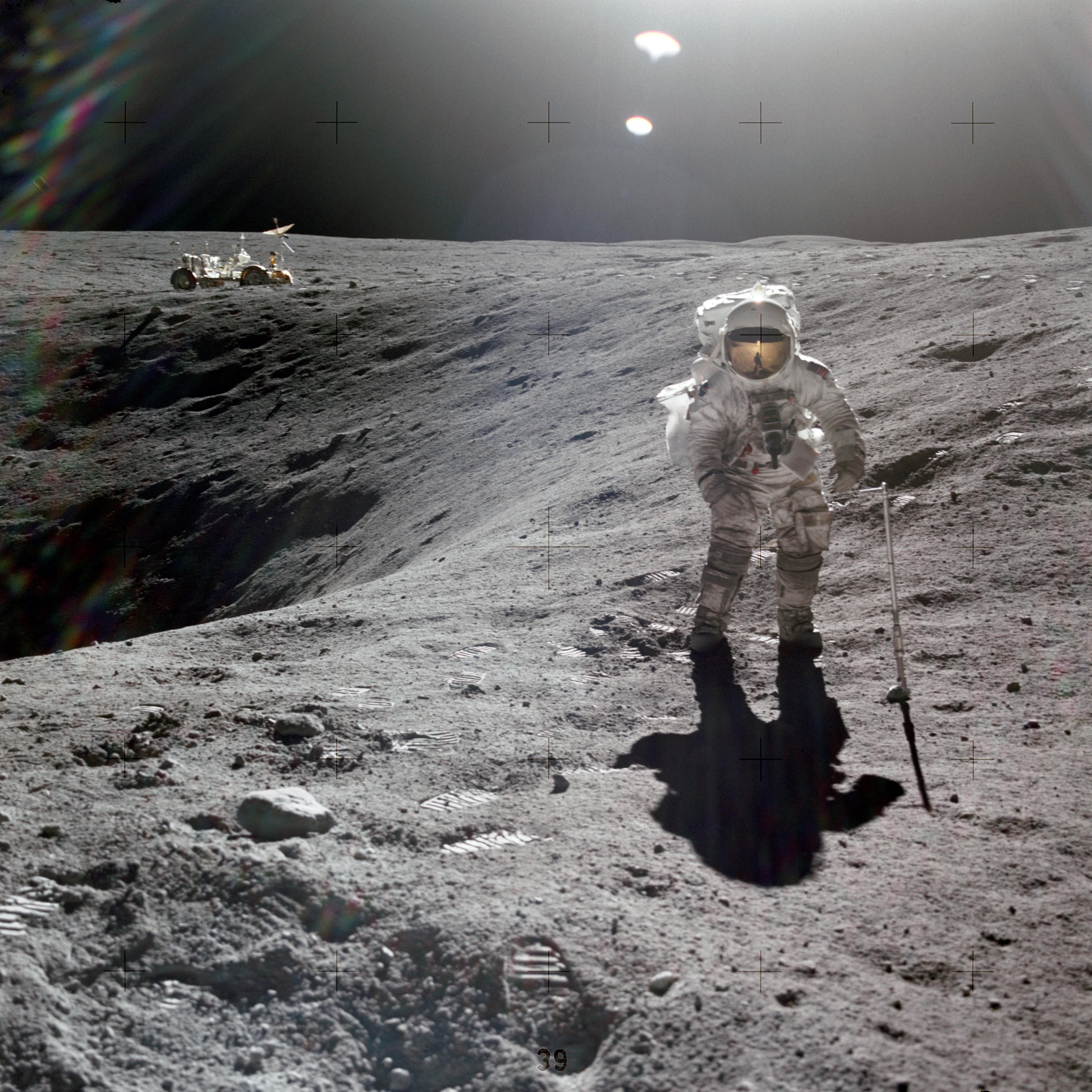 Astronaut Charles M. Duke Jr., lunar module pilot of the ...