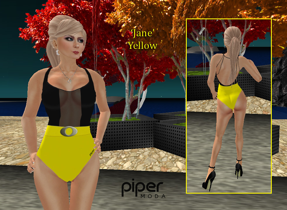 0fd0f1504c468 Piper Moda 'Jane' yellow swimsuit | me modelling one of my n… | Flickr