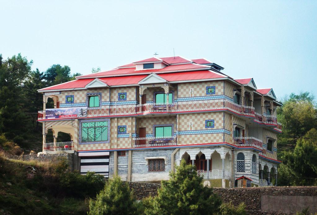 Gulshan e shuhda guest house rawalakot azad kashmir flickr for Modern house designs in kashmir