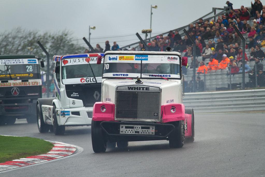 British Truck Racing Championship Volvo White (Brian Burt)… | Flickr