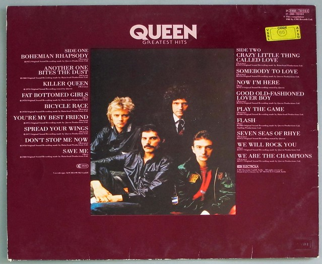 """QUEEN GREATEST HITS 12"""" LP VINYL"""