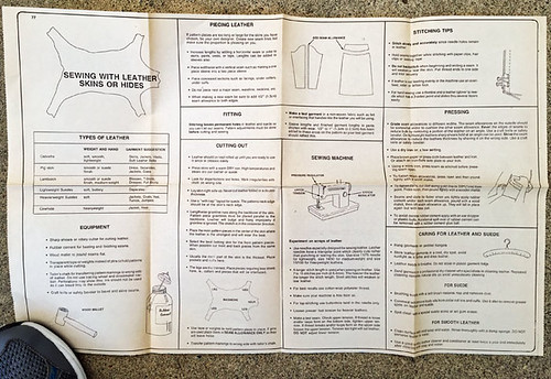 suede top instructions