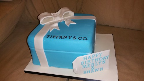 Tiffany box cake | by platypus1974