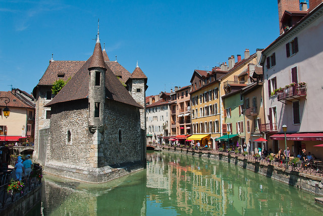 Annecy : centre ville, vieille prison