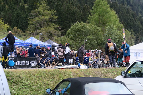 crowd After ride bbq