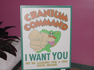 Cranium Command Wants You sign | by Disney, Indiana