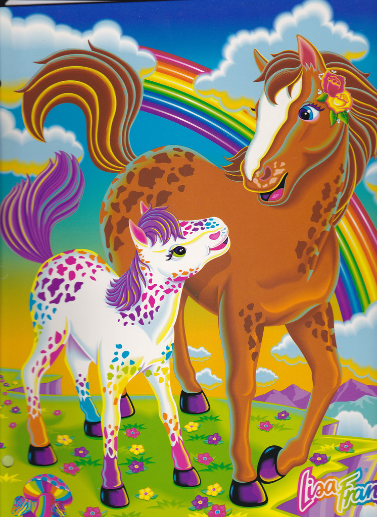 Lisa Frank Collage Lisa Frank Rainbow Chaser And