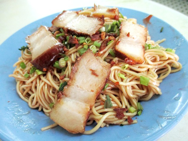 Diandianlai Cafe kampua mee with chili sauce