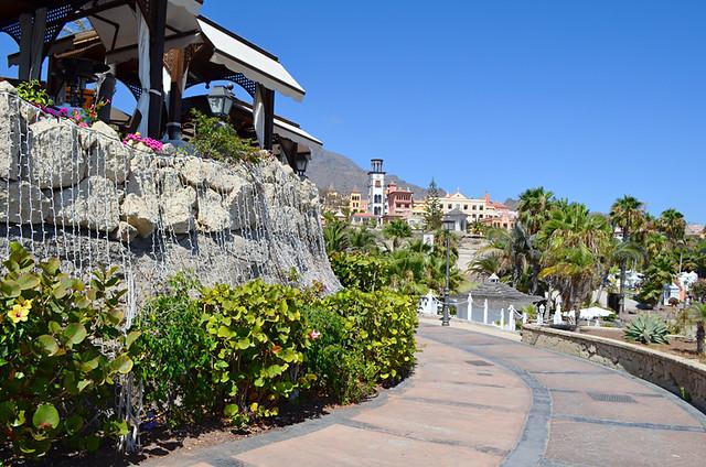 Promenade, Costa Adeje, Tenerife
