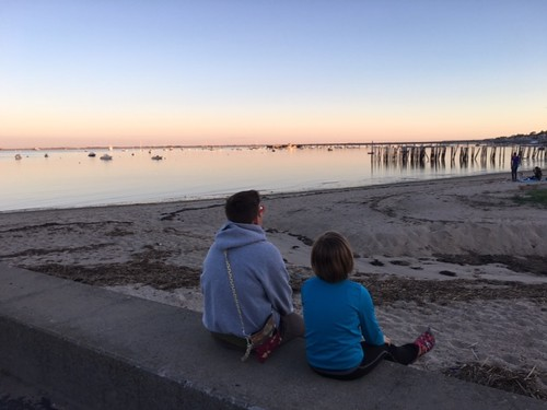 Enjoying the sunset in Provincetown, Massachusetts. From Creating a New Outlook on the World with International Experiences