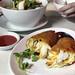 The famed crab omelette