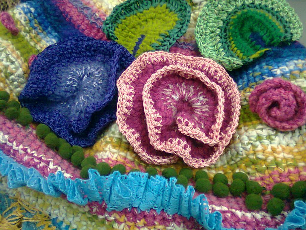 4f60eeffd492a Cores e texturas 10   Crochet com diferentes tipos de fios e…   Flickr