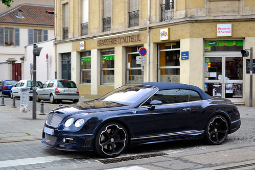 Bentley Wald Continental GTC Black Bison Edition | by Alexandre Prévot
