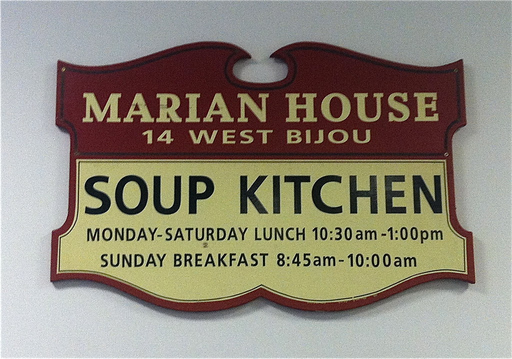 Marian House Soup Kitchen Sign Mariana Wagner Flickr