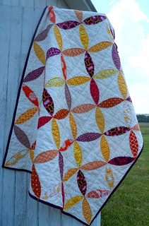 isabelle's quilt, hanging | by HoosierToni