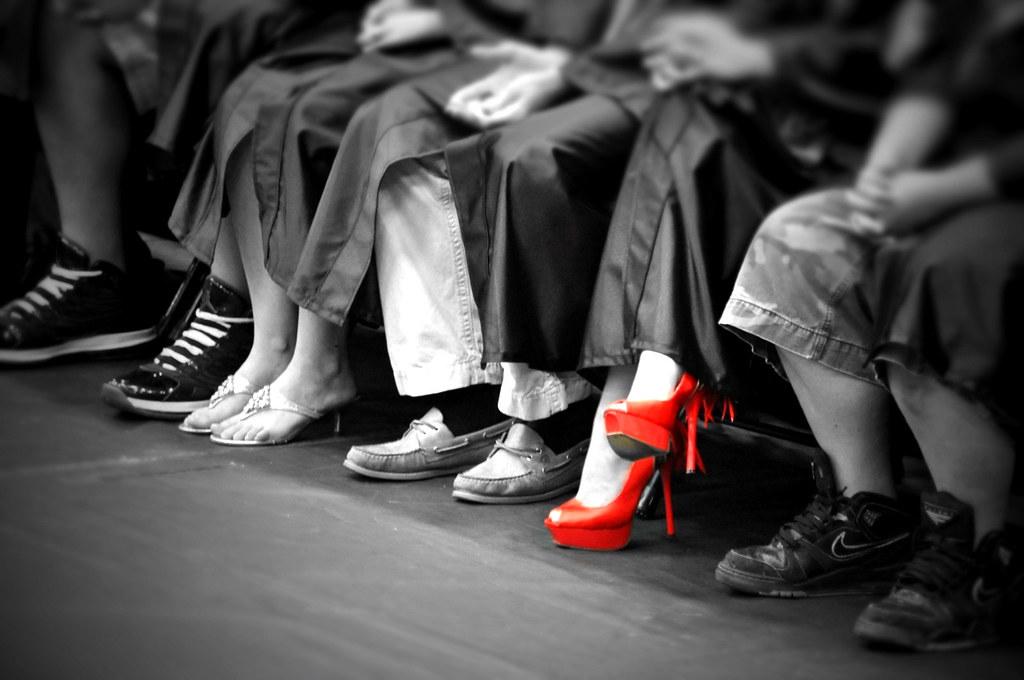 Red Shoe | David Reber | Flickr