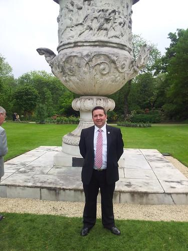 R Swann Mla Waterloo Memorial Vase...
