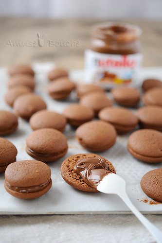 Whoopies au Nutella | by sylvieaa