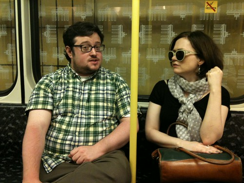 U-Bahn with Jordan | by Maud Newton