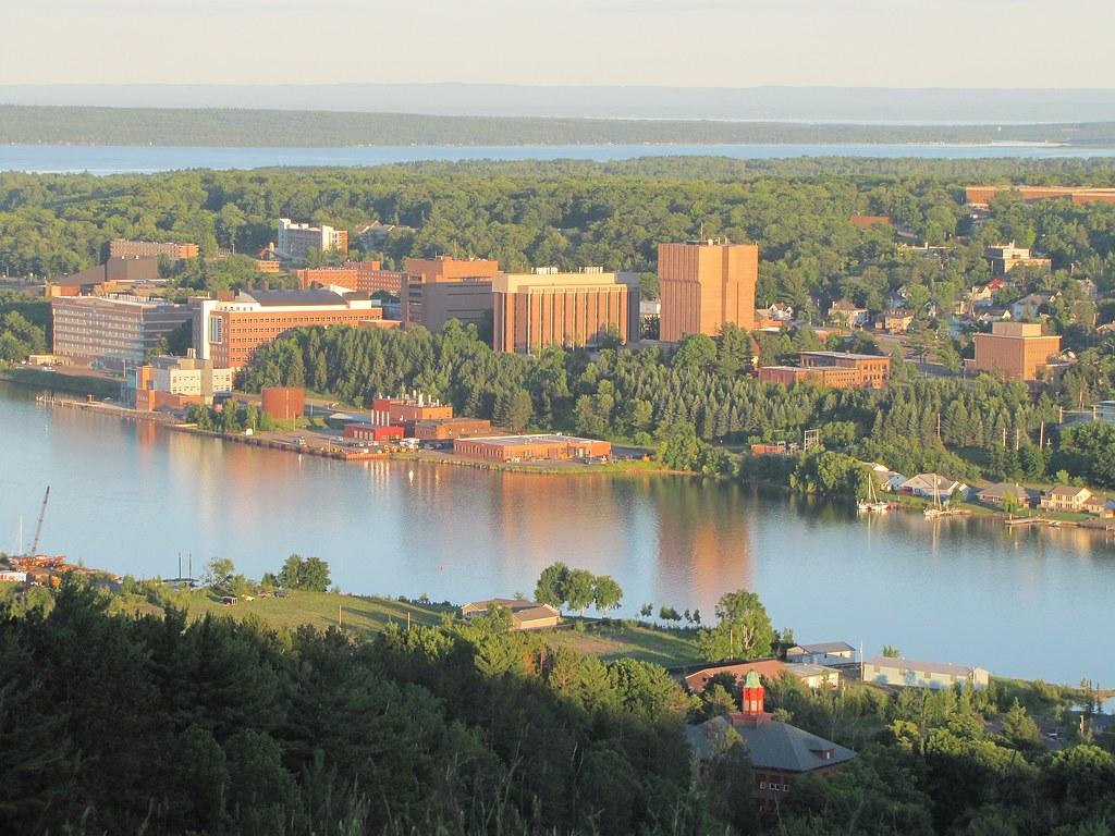 Summer Evening Michigan Tech Campus View: Longest Day June ...