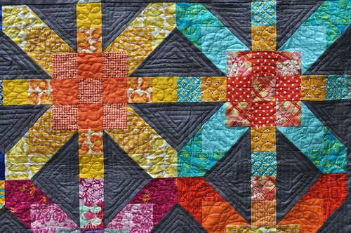 supernova quilting closeup | by vickivictoria