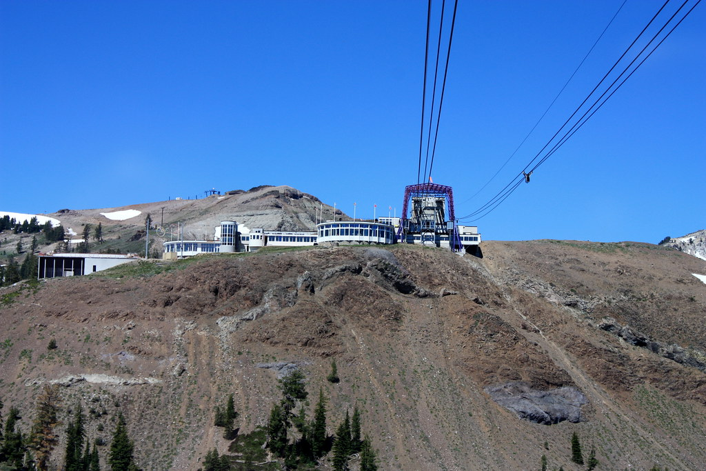 High Camp From Aerial Tram Squaw Valley Elevation 8 200 F Flickr