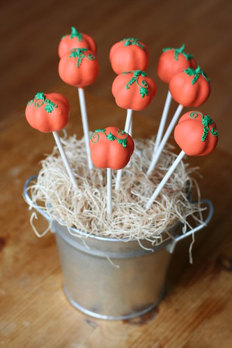 Pumpkin Cake Pops | by Sweet Lauren Cakes
