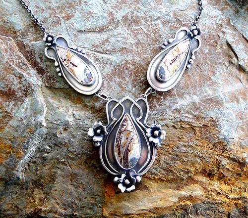 Belle Epoque Necklace With Sonoran Jasper