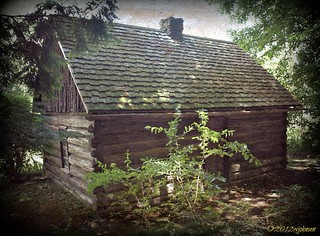 Log Cabin at Fillmore State Park | by Dawg Gone